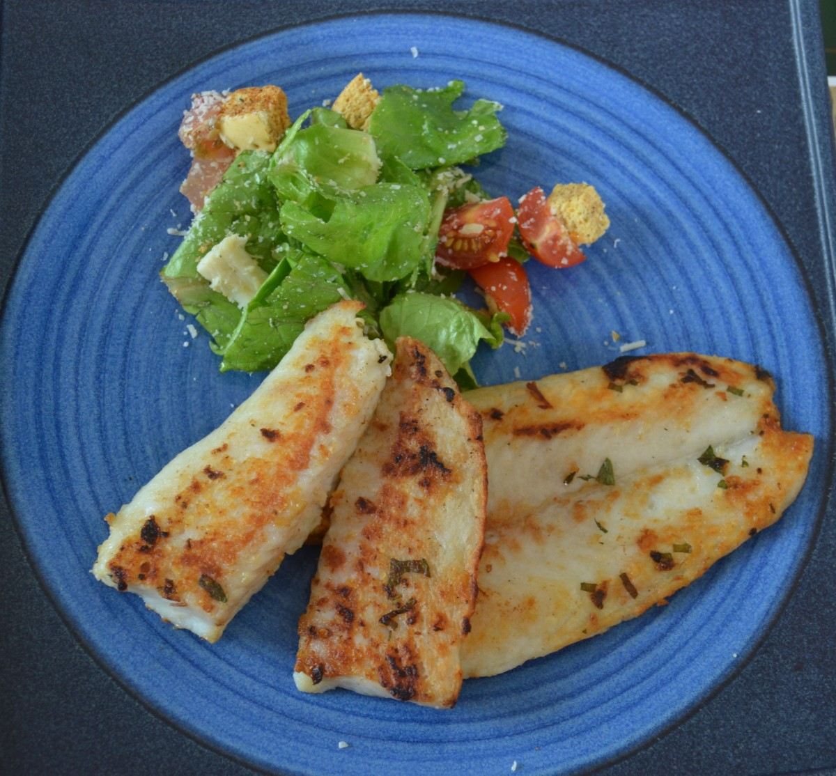 Filete De Pescado A La Plancha Recetas Para Compartir
