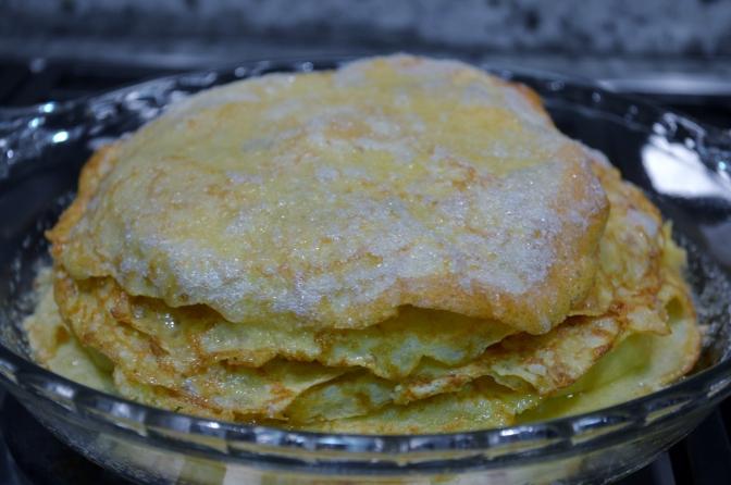 Gâteau de Crêpes à la Normande – Julia Child