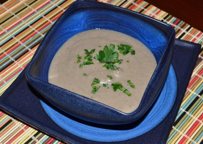 Sopa de Champiñones con Jerez
