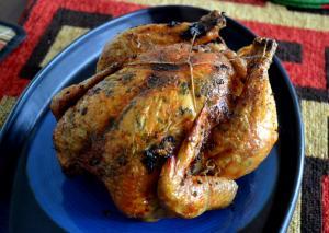 pollo asado horno