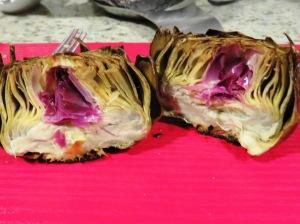 Corazones de Alcachofa al horno