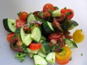 ensalada de quinua y pavo